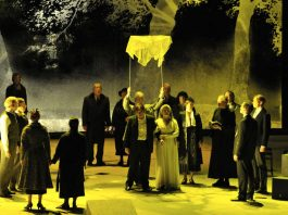 Jules Massenets »Werther« (Foto: Hans Jörg Michel)