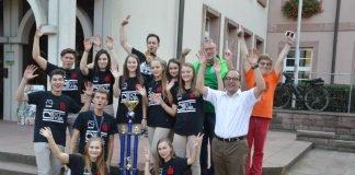 Weltmeisterempfang im Rathaus der Stadt Buchen (Foto: Stadtverwaltung Buchen)