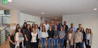 Die neuen Auszubildenden der Stadt Sinsheim 2018/2019 (Foto: Stadtverwaltung Sinsheim)