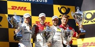 #7 Bruno Spengler, BMW M4 DTM, #2 Gary Paffett, Mercedes-AMG C 63 DTM (Foto: ITR GmbH)