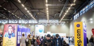Einstieg Messe Info-Stand + Job Wall (Foto: Einstieg GmbH)