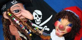 Kindertheater 'Kasper und der Pirat der sieben Meere', aufgeführt von der Freiburger Puppenbühne (Foto: Freiburger Puppenbühne)