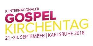 Logo Gospelkirchentag 2018 (Quelle: Evangelisches Dekanat Karlsruhe)