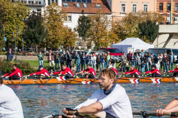 Achter-Regatta auf dem Neckar in Heidelberg (Foto: Uli Hillenbrand)