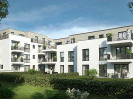 Wohnprojekt 'Am Unisys-Park 3-5' der ABG Frankfurt Holding in Sulzbach, Visualisierung (Foto: Klaus Eismann & Partner)