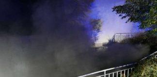 Tiefgaragenzufahrt (Foto: Feuerwehr Darmstadt)