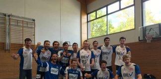 Die Volleyballer des SSC Karlsruhe (Foto: Alexander Burchartz)