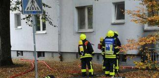 Feuer in einem Keller - Bild: Feuerwehr Frankfurt am Main