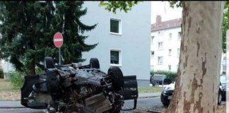 Schwerer Unfall in Frankenthal - Bild: privat