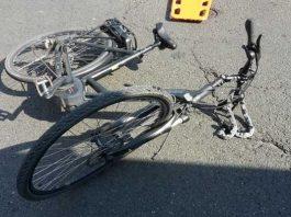 Beschädigtes E-Bike