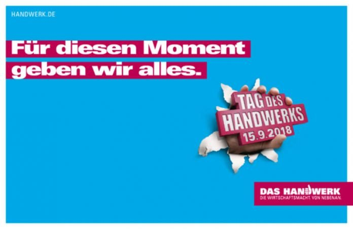 Tag des Handwerks (Quelle: Deutscher Handwerkskammertag e.V.)