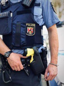 Die Taser werden nun auch in Ludwigshafen eingesetzt