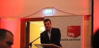 David Guthier - Vorsitzender des SPD Stadtverbandes in Ludwigshafen - Archivbild