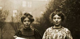 Anne Kenney & Christabel Pankhurst, Women's Social and Political Union, 1908.