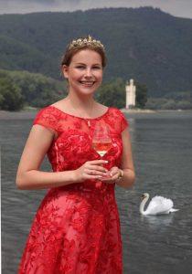 Weinprinzessin Annika Hohmann. Fotorechte: Stadt Bingen