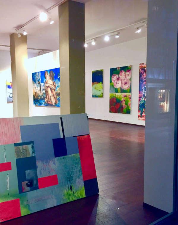 Ein Blick in den Art Shop (Foto: Kunstverein Neustadt)