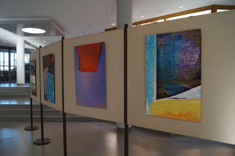Werke von Karola Reichel (Foto: Kreisverwaltung Bad Dürkheim)