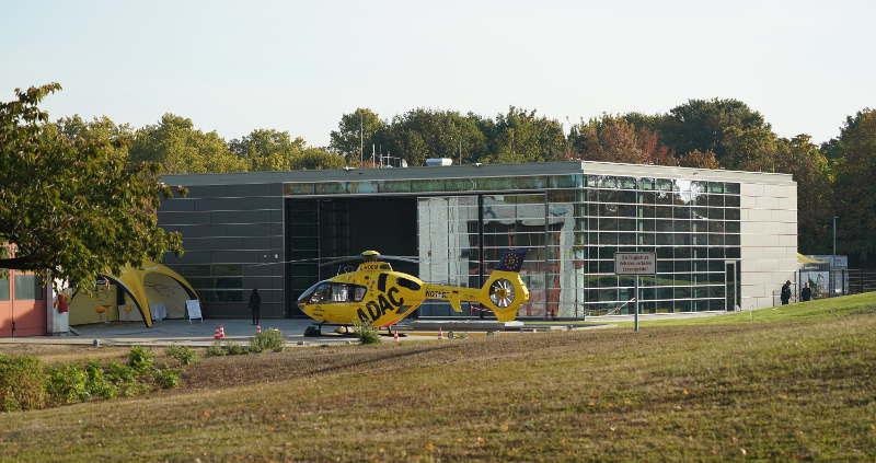 Ludwigshafen BG-Unfallklinik Christoph 5 Tag der offenen Tür (Foto: Holger Knecht)