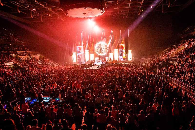Mannheim SAP Arena Andreas Gabalier (Foto: Helmut Dell)