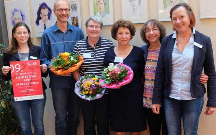 v.l. Yvonne Prähauser, Peter Lichtenthäler, Bärbel Morsch, Karola Marg, Gabriele Bandt, Ute Schleh.