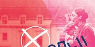 """Plakat """"Damenwahl! 100 Jahre Frauenwahlrecht"""" (Quelle: Historisches Museum Frankfurt)"""