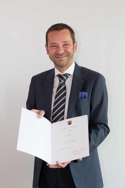 Honorarprofessur Bernhard Schäfer