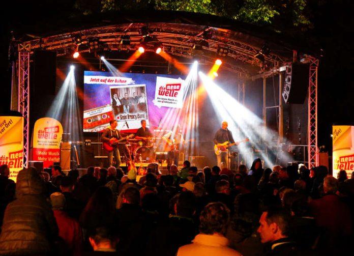 Die Seán Treacy Band (Quelle: KME Karlsruhe Marketing und Event GmbH - Foto: Jürgen Rösner)