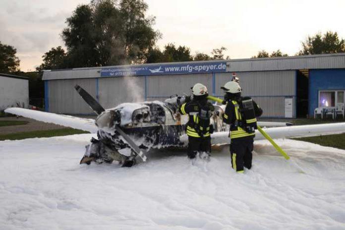 Flugzeugbrand