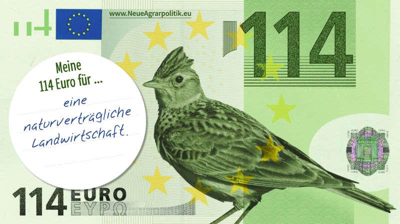 Postkarte zur 114Euro-Kampagne (Quelle: NABU)
