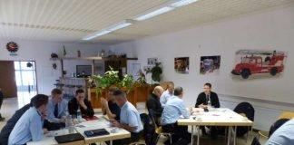 Die Führungskräfte bildeten sich fort (Foto: Medienteam Feuerwehr Neustadt)