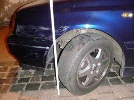Unfallflucht: Schaden an geparktem PKW