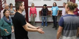Zivilcourage-Training in Weinheim - Foto: Stadt Weinheim