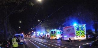 Einsatz in der Frankfurter Straße (Foto: Feuerwehr Darmstadt)