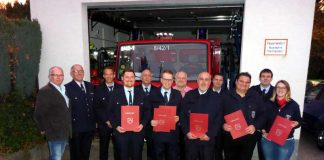 Feuerwehrbeförderungen