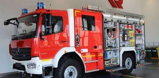 Neues Löschgruppenfahrzeug Katastrophenschutz (LF-KatS) (Quelle: Etzler / BBK)