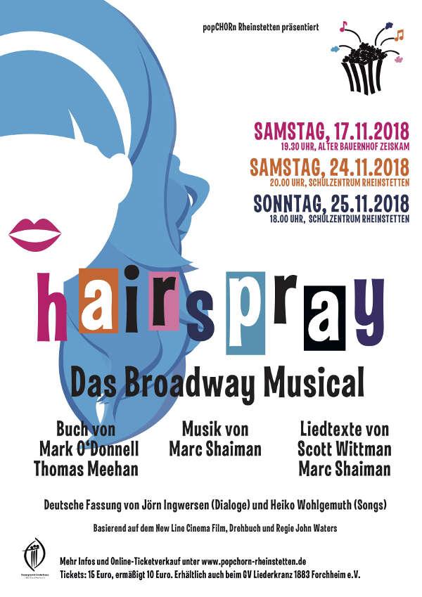 """Das bekannte Broadway-Musical """"Hairspray"""" spielt im Baltimore der 1960er-Jahre und ist mit seiner Geschichte rund um Diskriminierung und Toleranz heute so aktuell wie eh und je. (Foto: popCHORn)"""