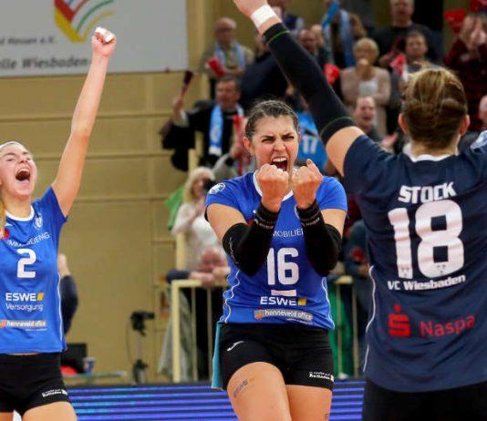 Freude beim VCW auf die erste Runde im DVV-Pokal (Foto: Detlef Gottwald)