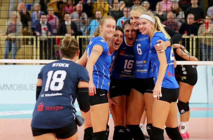 Das VCW-Team glaubt an seine Chance im Pokalviertelfinale (Foto: Detlef Gottwald)