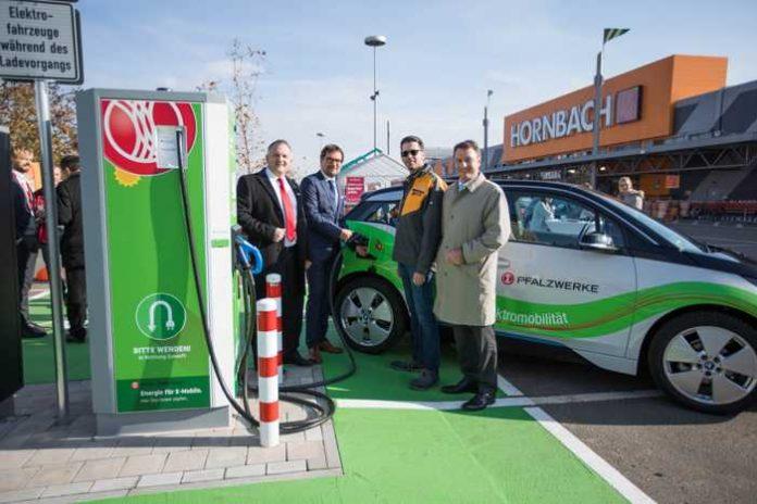 Ludwigshafen Starke Partner In Sachen Elektromobilität Hornbach