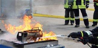Der Schaumtrainer (Foto: Feuerwehr Frankenthal)