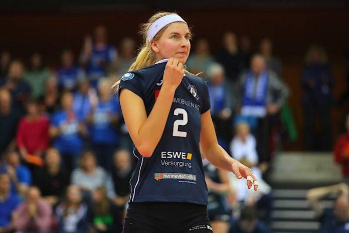 MVP des VCW bei Niederlage in Vilsbiburg: Nele Barber (Foto: Detlef Gottwald)