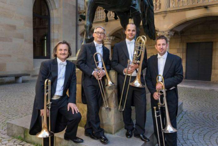 Posaunenquartett Trombanda (Foto: Jim Martin)