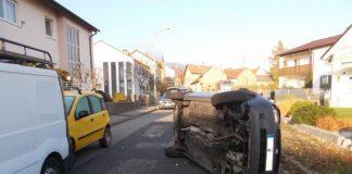 Unfall Kreuzstraße NW (Foto: Polizei RLP)
