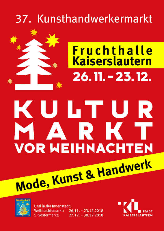 Plakat Kulturmarkt 2018