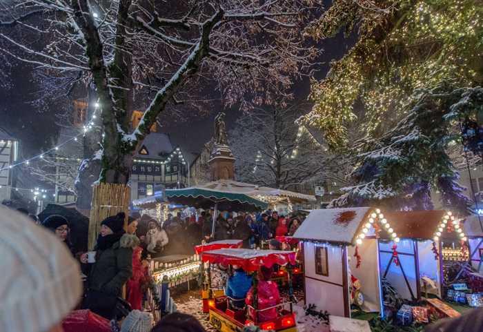 Weihnachtsmarkt Quelle: Stadt Lorsch