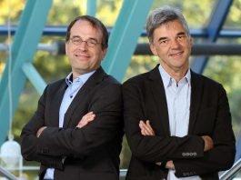 Professor Dr. Wilko Manz (li.) und Professor Dr. Theo Schmitt