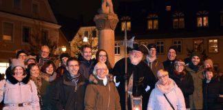 Eine tolle Spende überreichte der Nachtwächter von Speyer