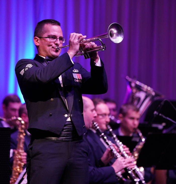Kaiserslautern Weihnachtskonzert holiday concert USAFE Band (Foto: Holger Knecht)