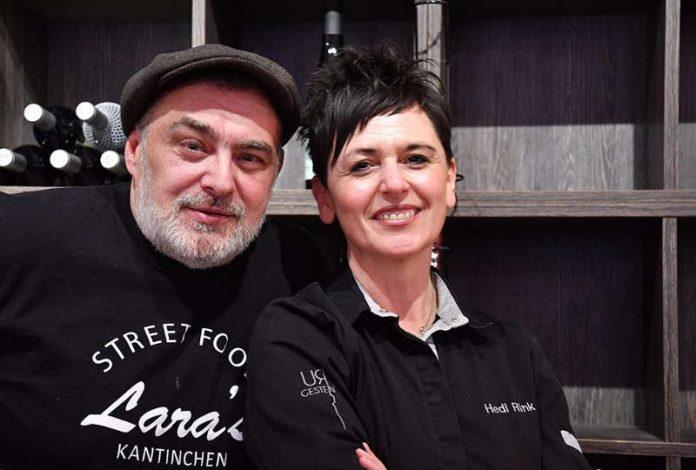 Michael Schlicksupp und Hedi Rink (Foto: Steinhäuser Hof)