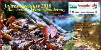 Buschcraft Winterwanderung